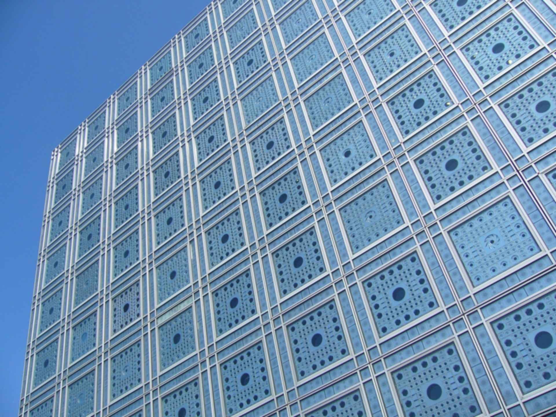 Arab World Institute - Exterior Walls