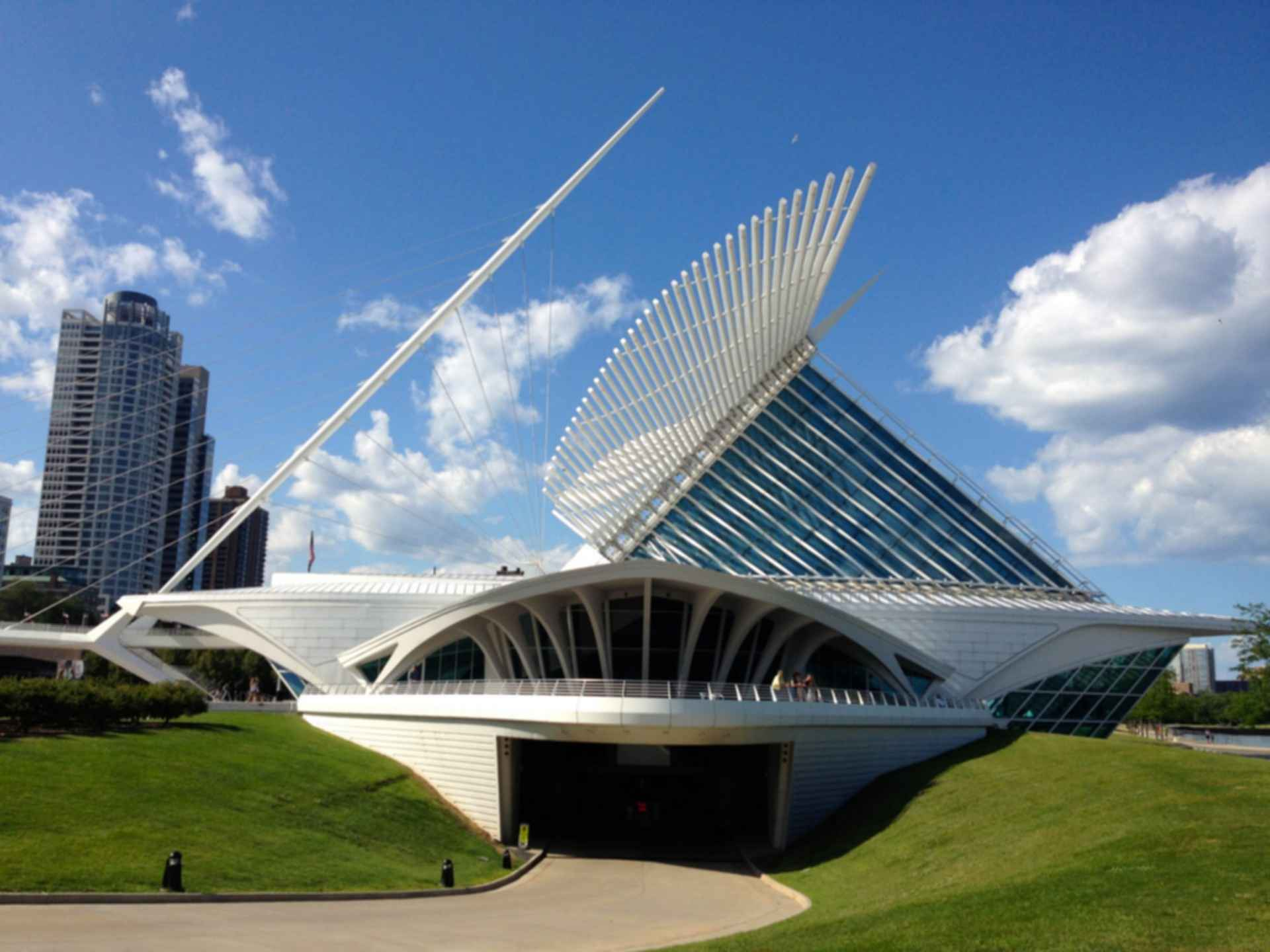 Milwaukee Art Museum - Exterior Wing