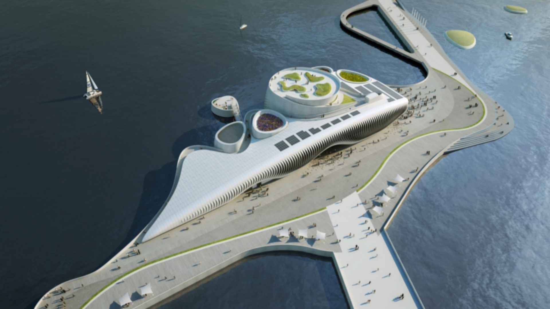 One Ocean, Thematic Pavilion EXPO 2012 - Concept Design