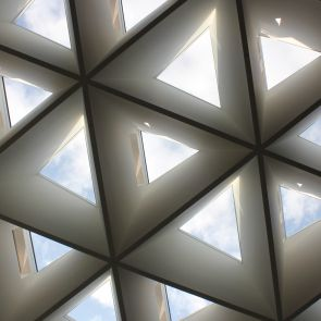 Kolding Campus, University of Southern Denmark - Steel Triangle