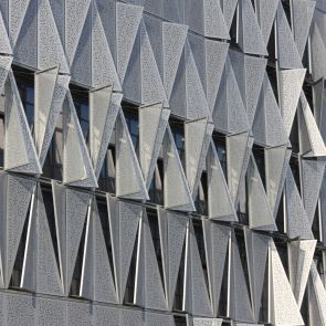 Kolding Campus, University of Southern Denmark - Exterior Pannels