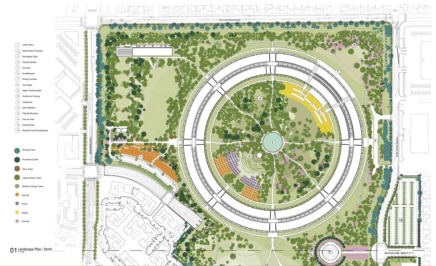 Apple Campus - Site Plan