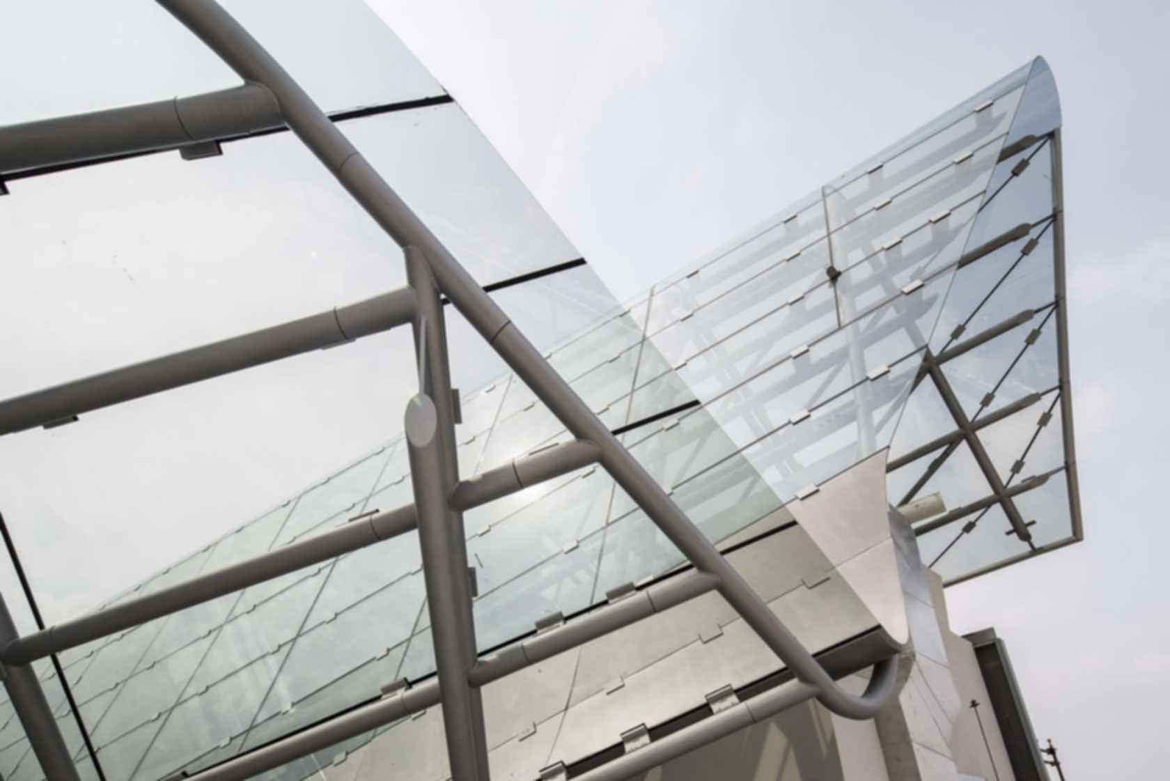 Italy Pavilion (Palazzo Italia) - Exterior Glass Roof