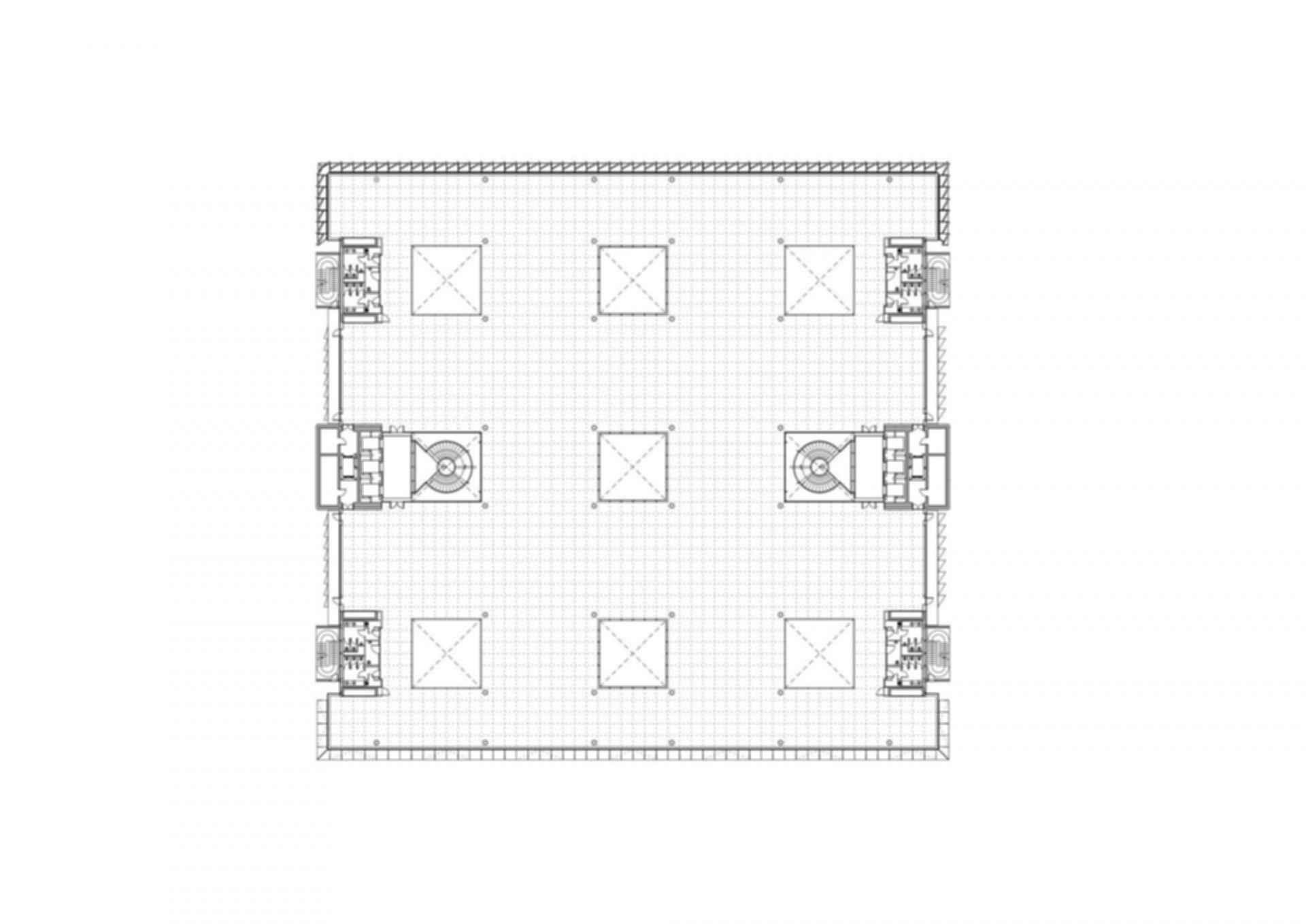 Siemens HQ in Masdar City - Site Plan