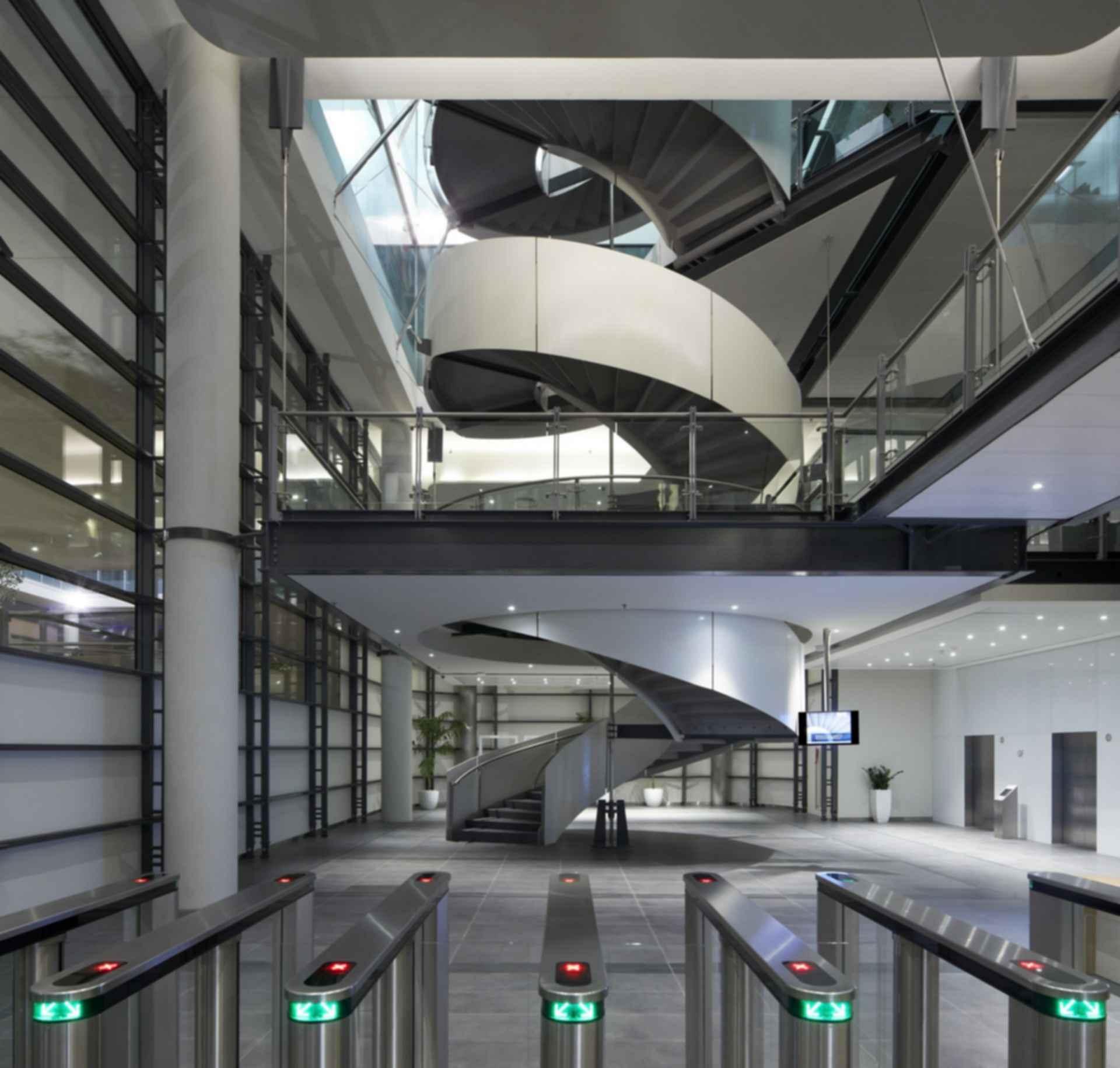 Siemens HQ in Masdar City - Interior Entrance
