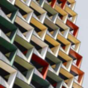 A'Beckett Apartment Tower - Exterior Close up