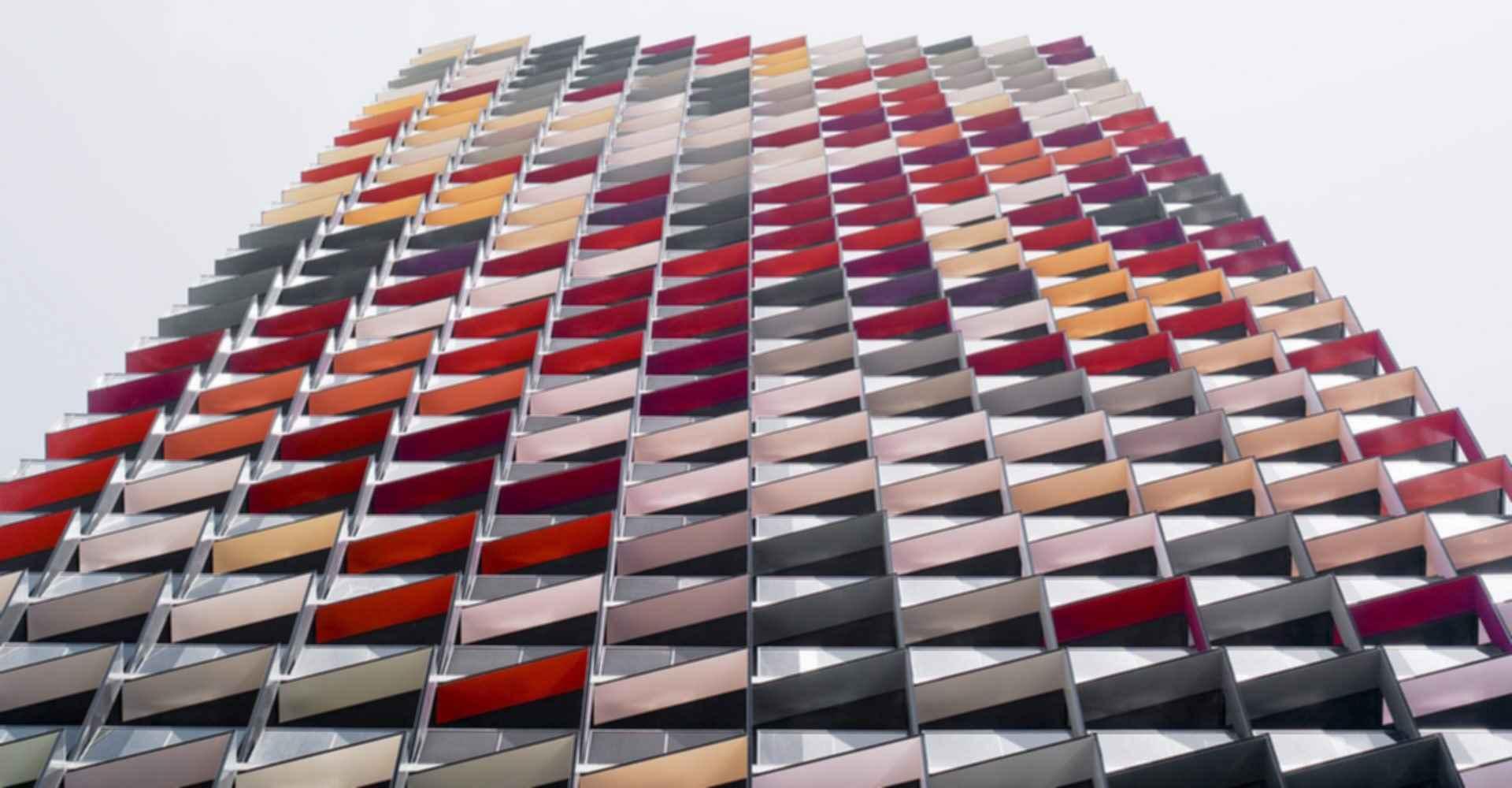A'Beckett Apartment Tower - Exterior Close up
