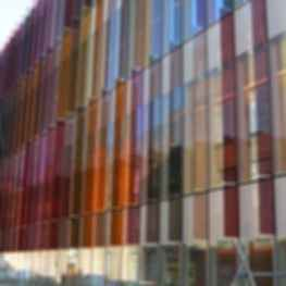 Oxford University Biochemistry Building - Exterior Glass