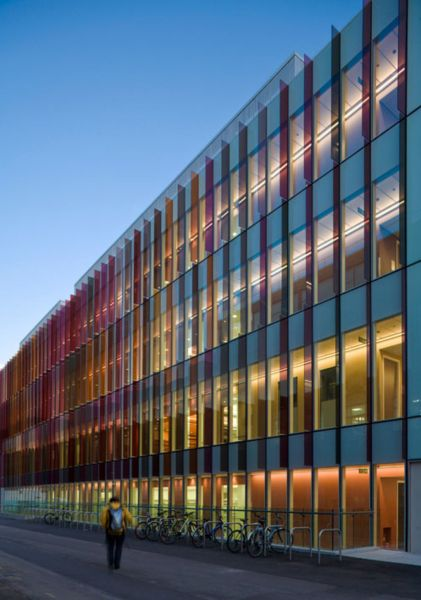 Oxford University Biochemistry Building Exterior Glass