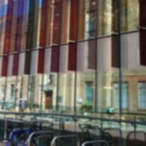 Oxford University Biochemistry Building - Exterior Glass