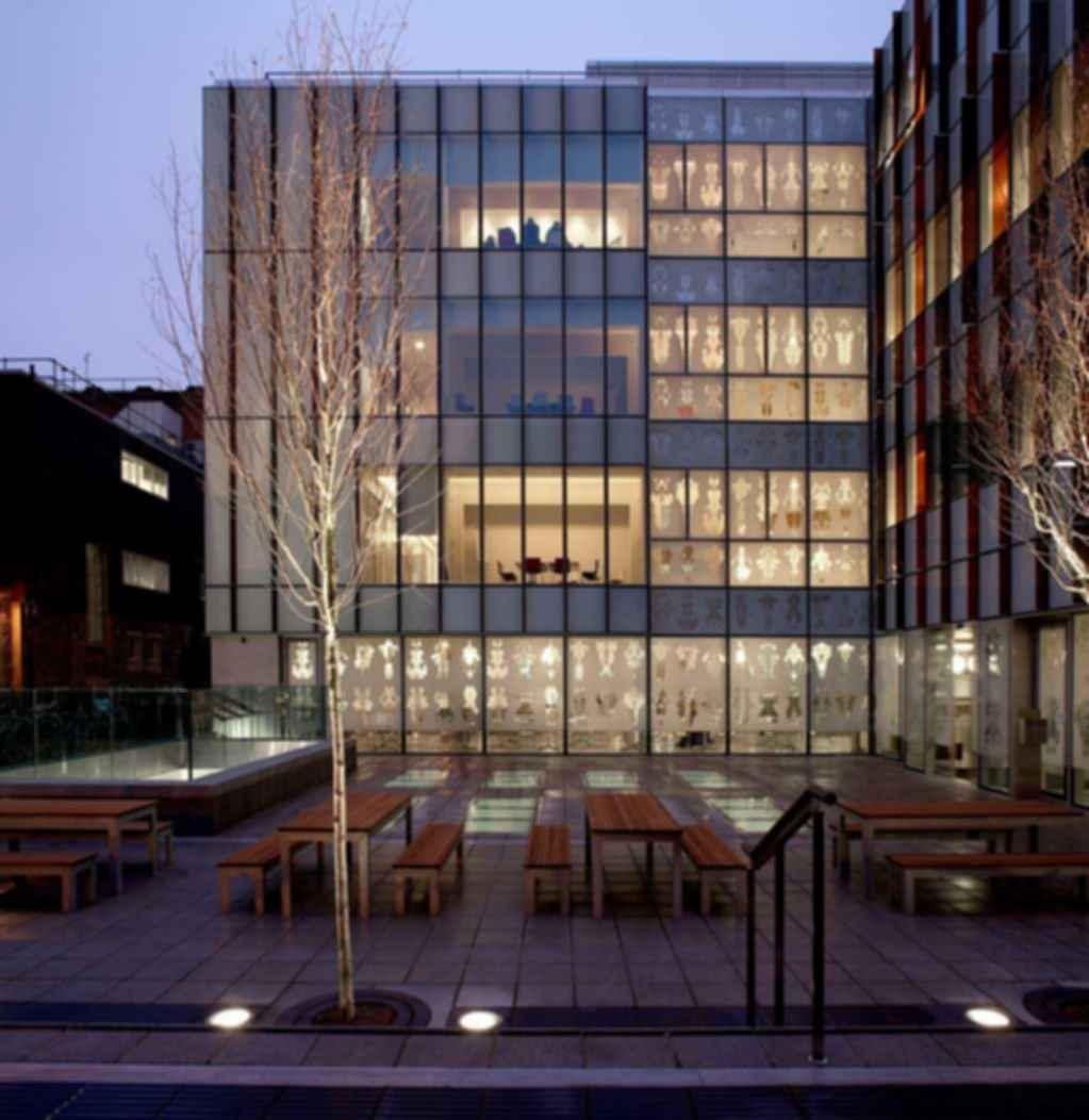 Oxford University Biochemistry Building - Exterior