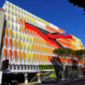 Santa Monica Parking Structure - Exterior
