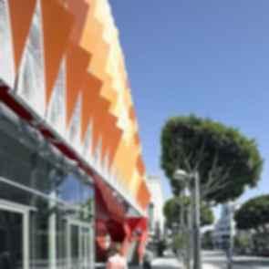 Santa Monica Parking Structure - Exterior/Path