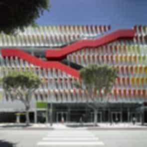 Santa Monica Parking Structure - Exterior/Entrance