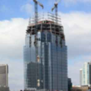 The Pinnacle at Symphony Place - Construction