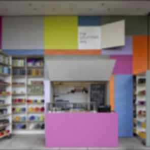 The Gourmet Tea Pop-Up Store - Store/Walls Folded Out