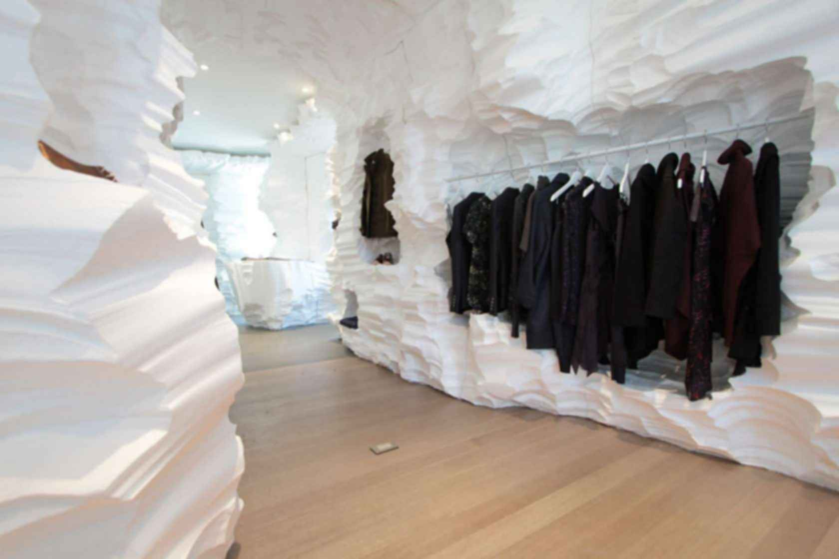 Richard Chai Pop-Up Store - Interior