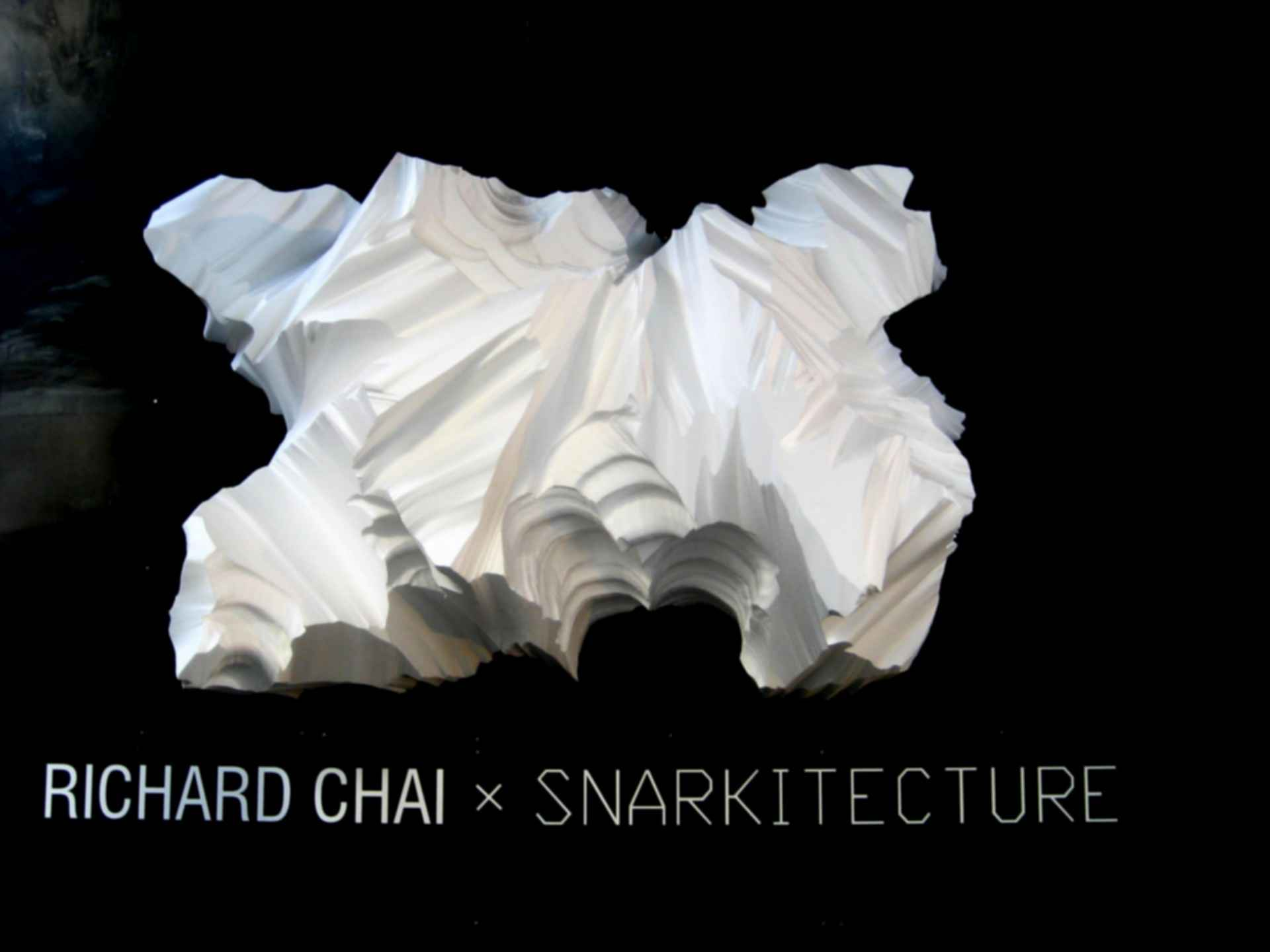 Richard Chai Pop-Up Store - Material