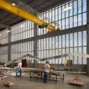 Zahner Factory Expansion - Construction/Interior
