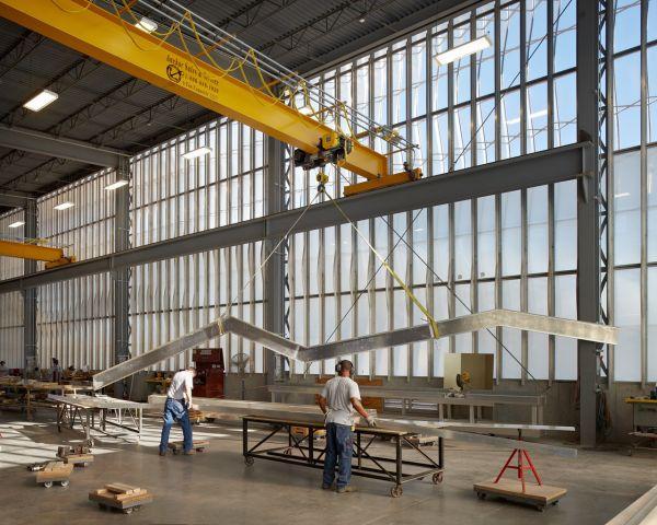 Zahner Factory Expansion Construction Interior Modlar Com