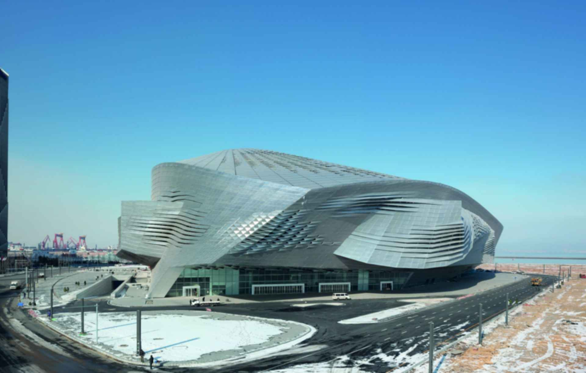 Dalian International Convention Center - Exterior