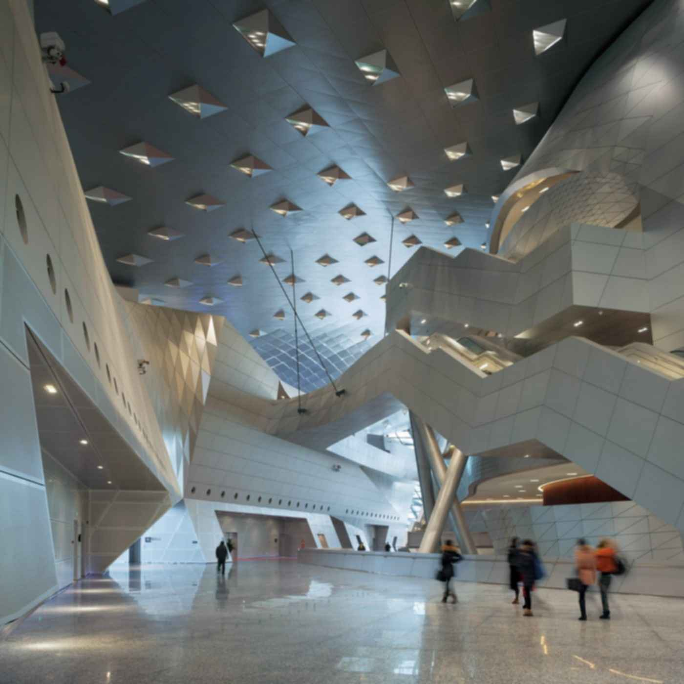 Dalian International Convention Center - Interior