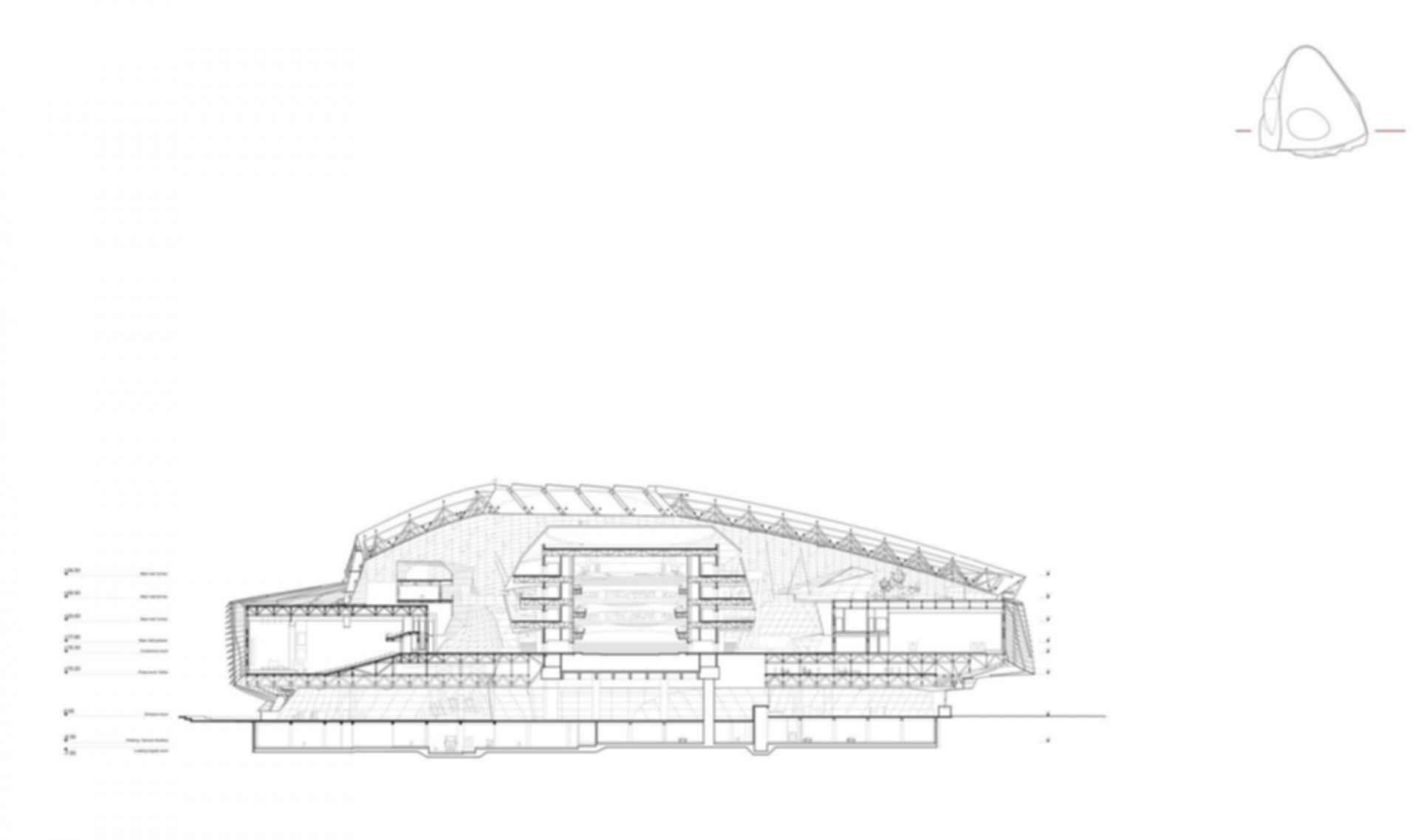 Dalian International Convention Center - Floor Plan