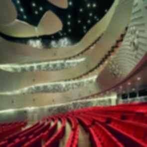 Dalian International Convention Center - Interior Seating