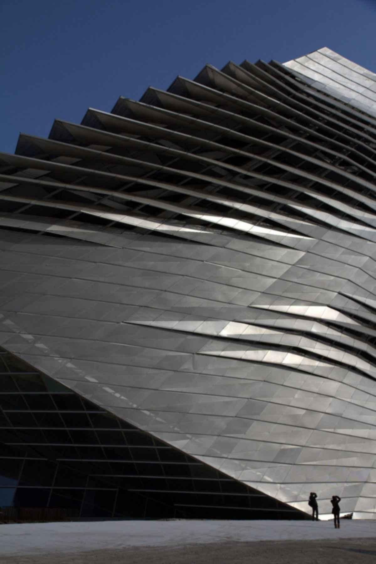 Dalian International Convention Center - Exterior Wall
