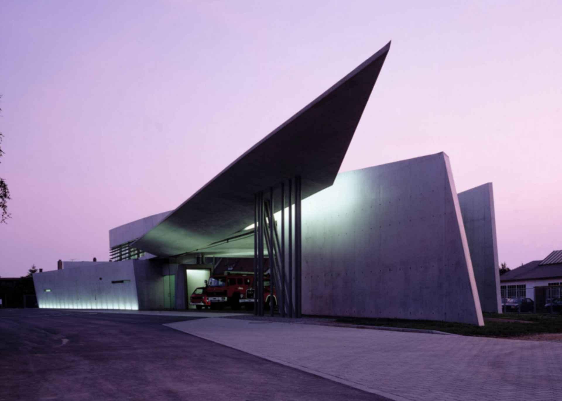 Vitra Fire Station - Exterior/Entrance