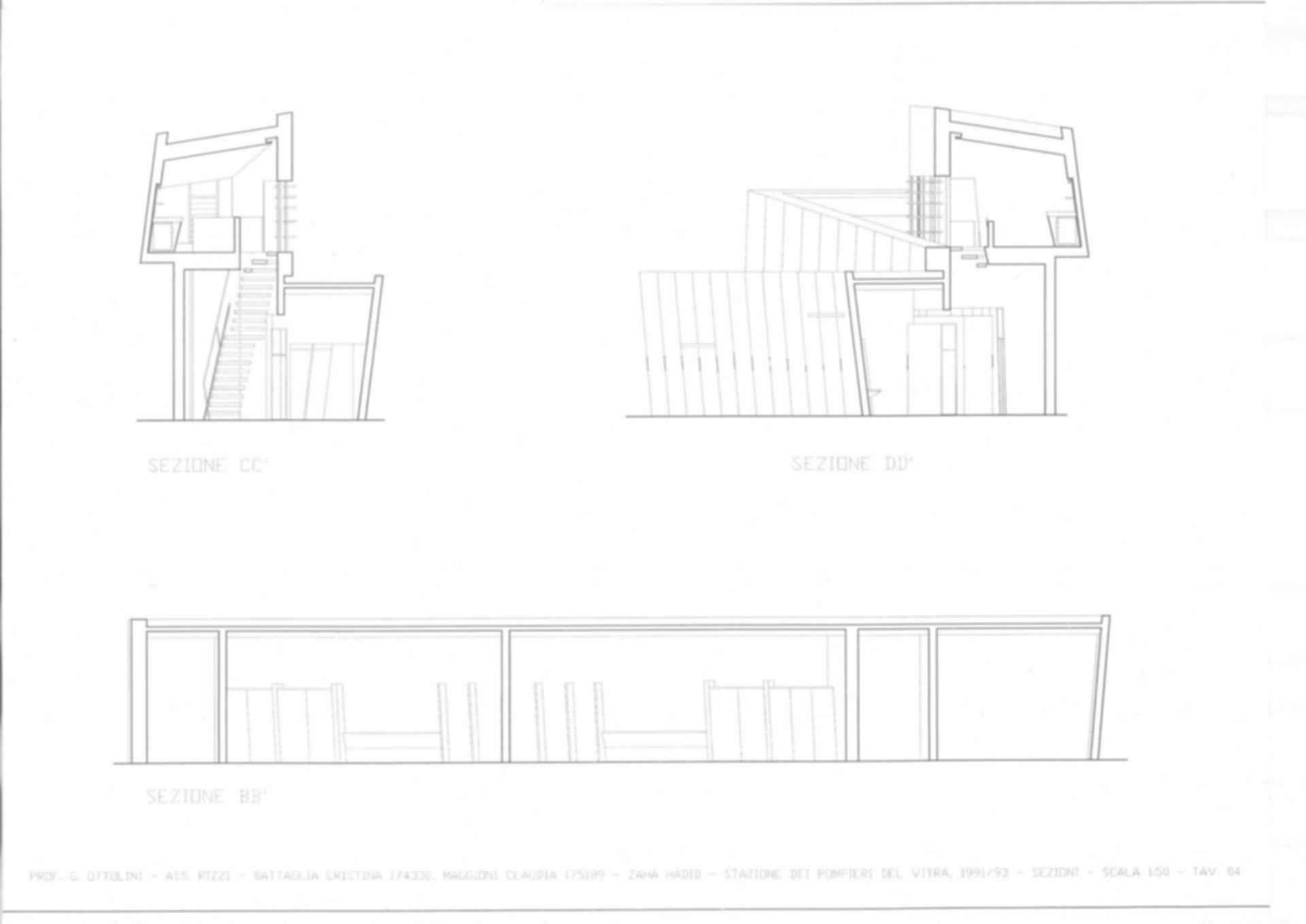 Vitra Fire Station - Concept Design