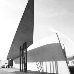 Vitra Fire Station - Exterior/Footpath
