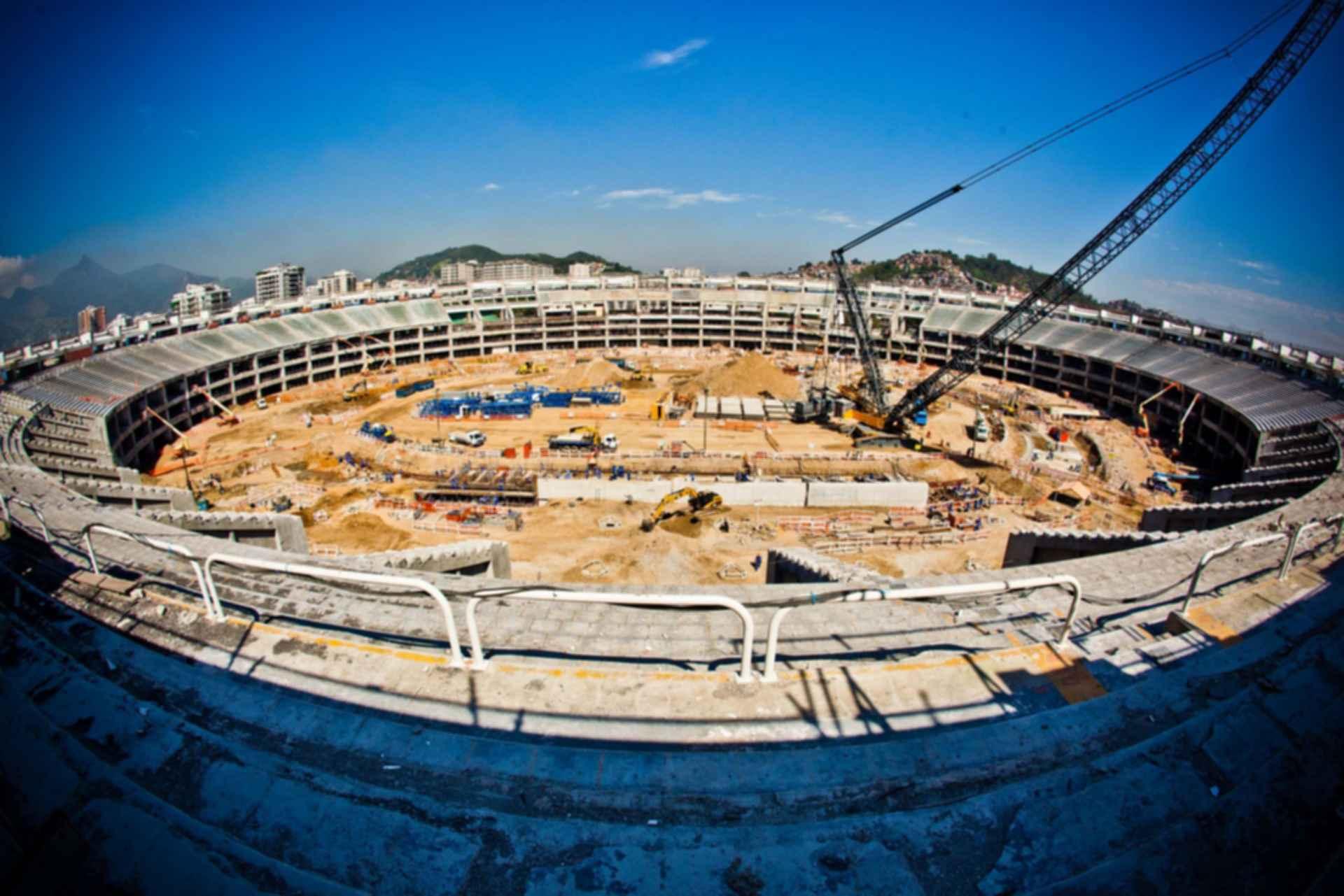 Maracana Stadium - Construction