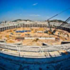 Maracana Stadium - Construction