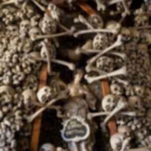 Czermna Chapel - Interior/Bones