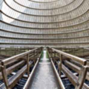I.M. Cooling Tower - Inside the Tower