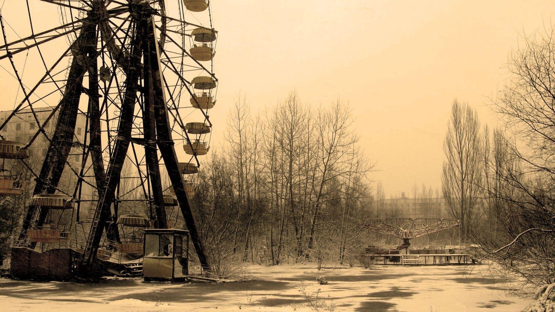 Pripyat Amusement Park - Ferris Wheel - modlar com