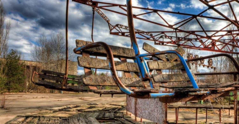 Pripyat Amusement Park - Seating