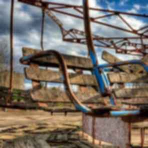 Pripyat Amusement Park - Seating