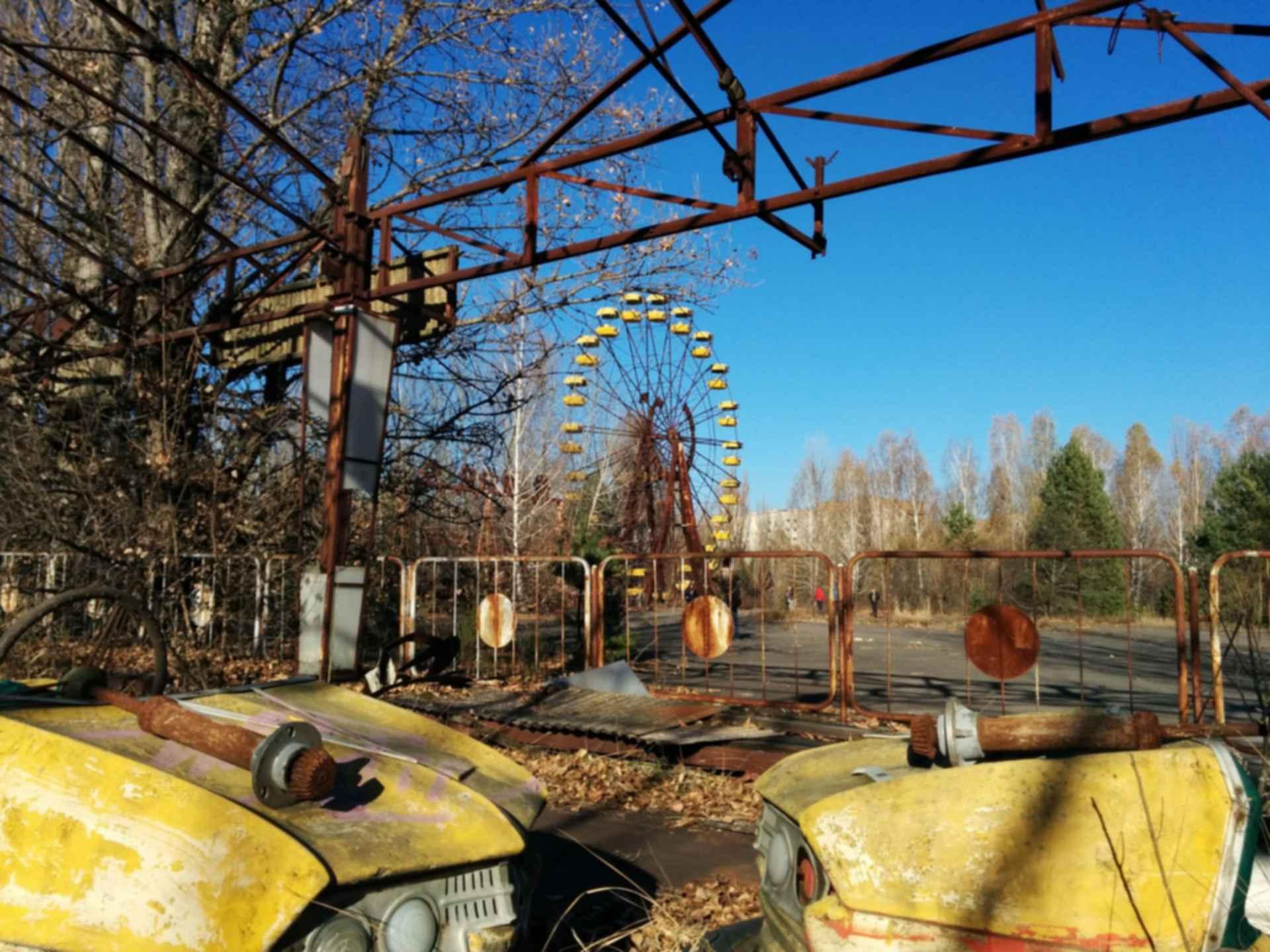 Pripyat Amusement Park - Fences