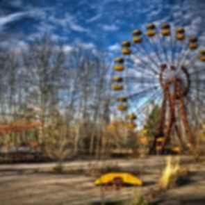 Pripyat Amusement Park - Ferris Wheel