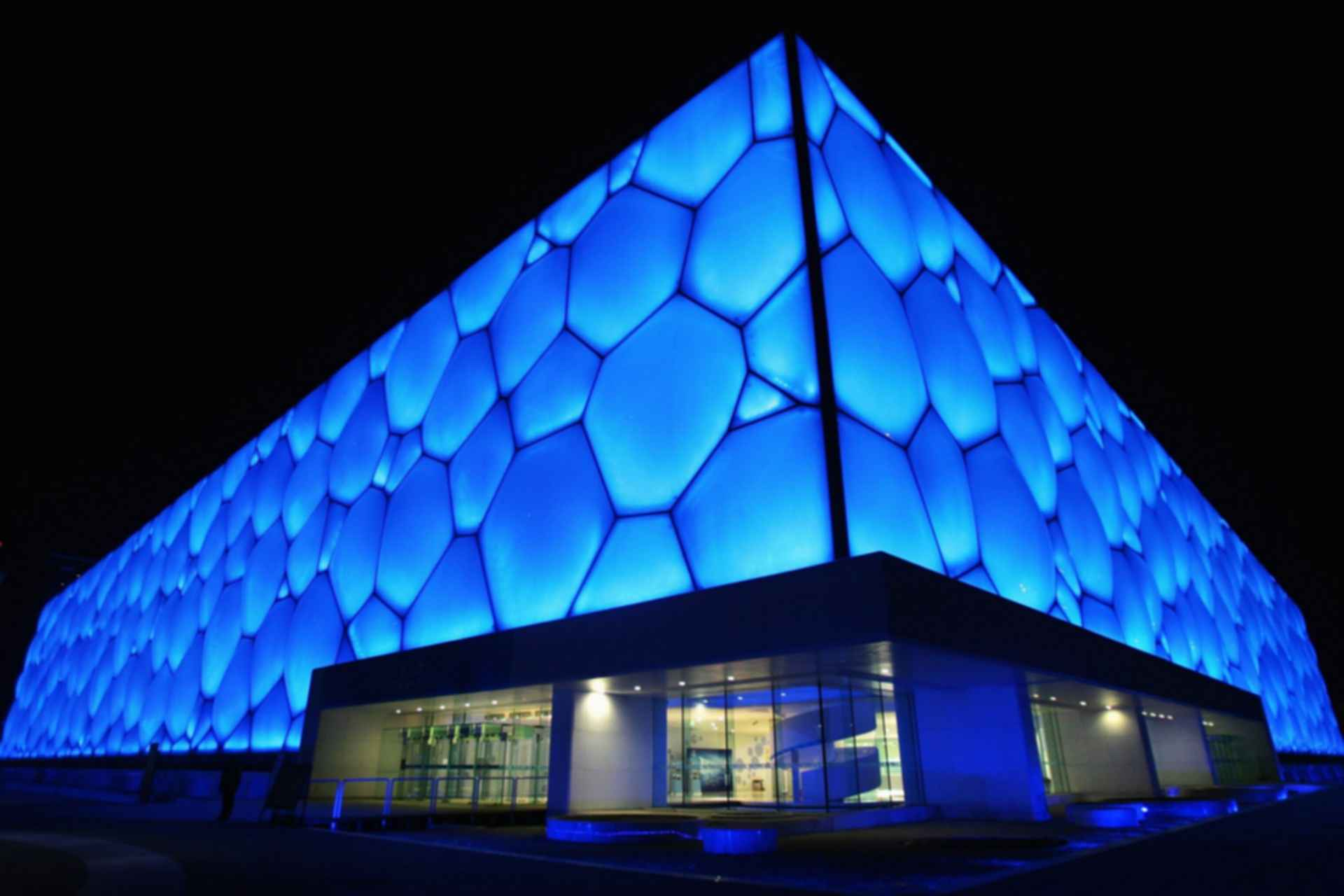 National Aquatics Centre - Exterior