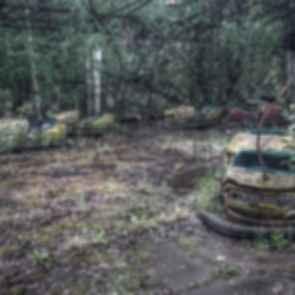 Pripyat Amusement Park - Bumper Carts