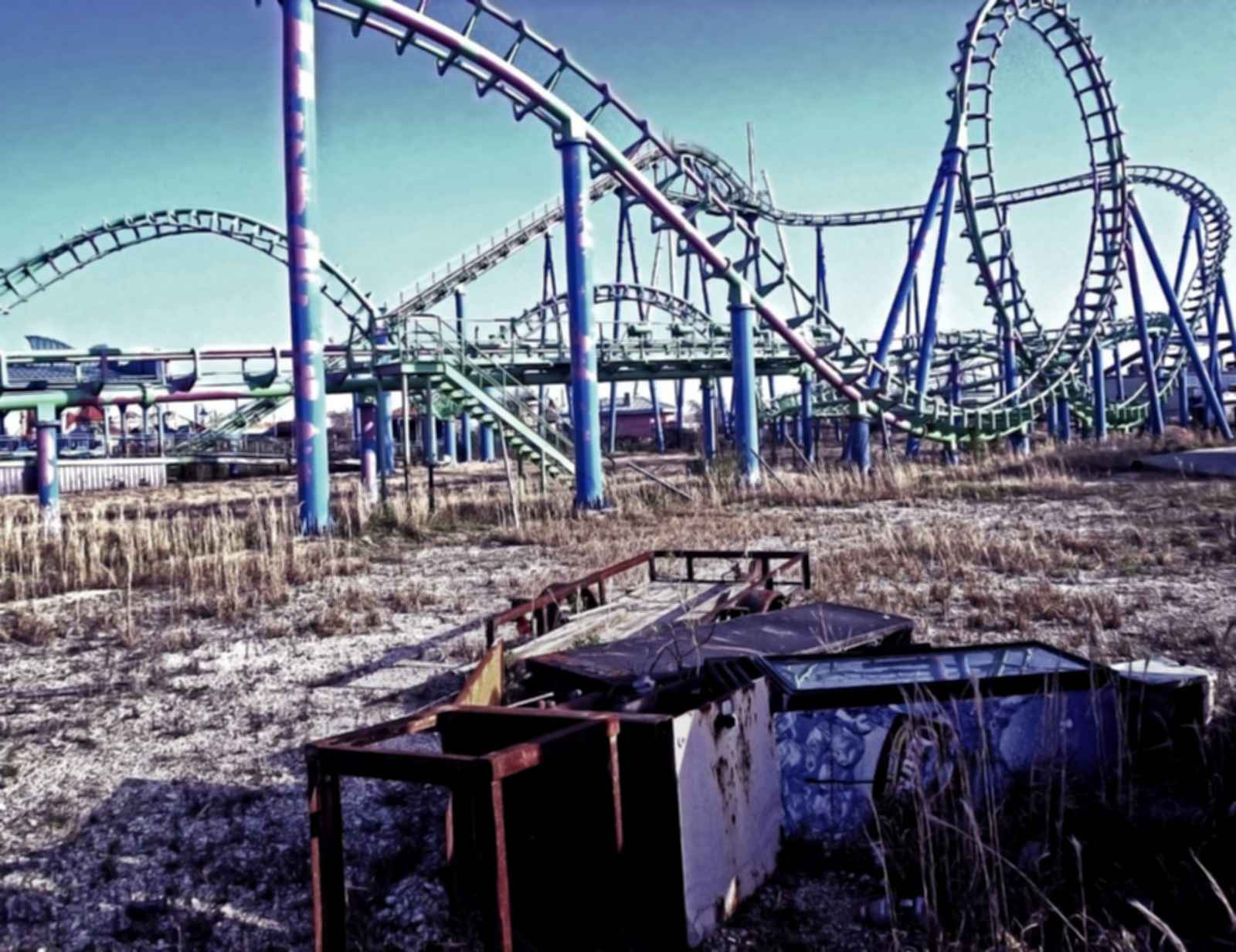Pripyat Amusement Park - Roller Coaster