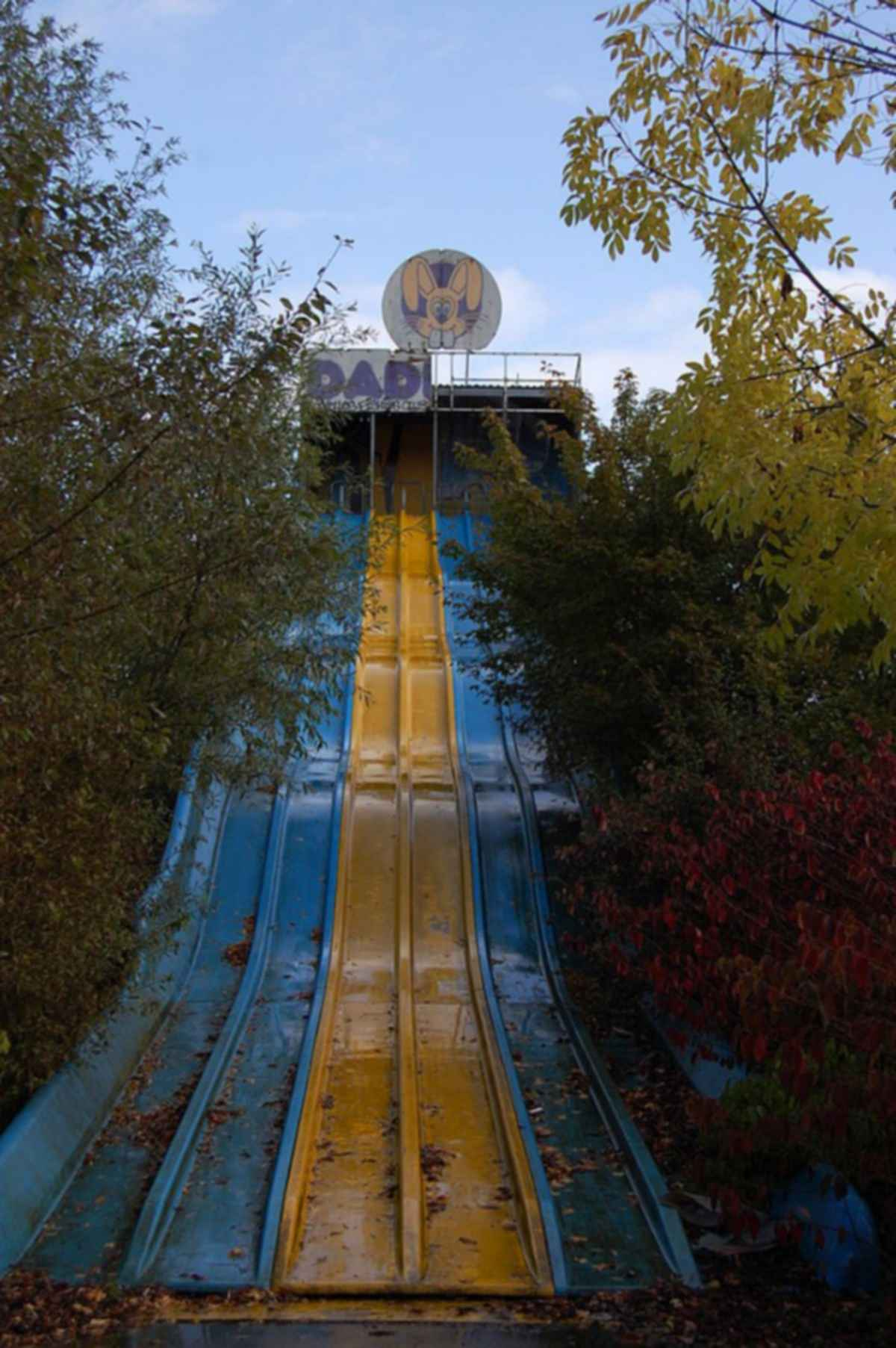 Dadipark Amusement Park - Slide