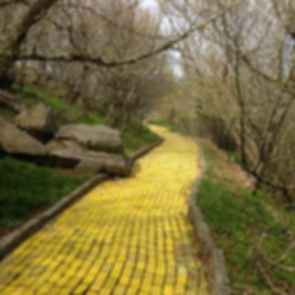 Land of Oz Amusement Park - Brick Walkway