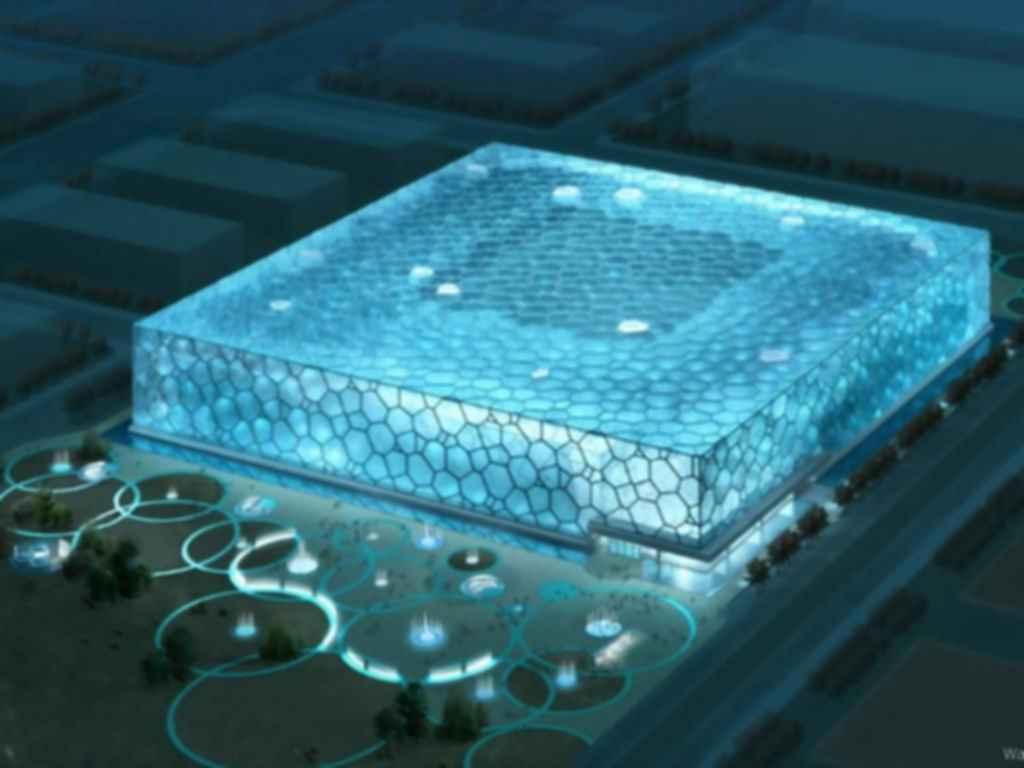 National Aquatics Centre - Exterior Concept