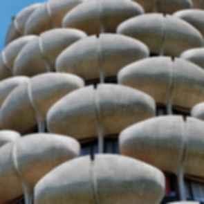 Les choux de creteil - Concrete Detail on Exterior