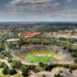 Munich Olympic Stadium - Aerial View
