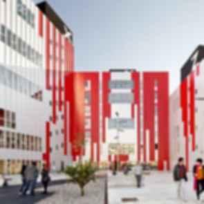 University Housing Gandia - Concept